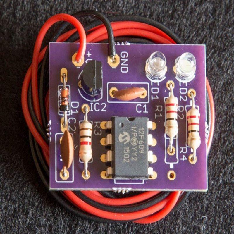 12v Dc Miniature Led Oo 00 Flicker Circuit Lighting Buildings Station